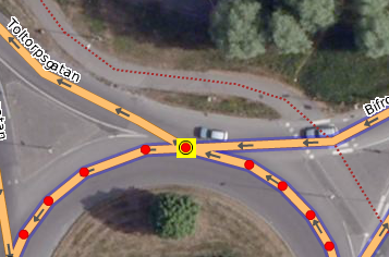 P2 Example of shared nodes at roundabout.png