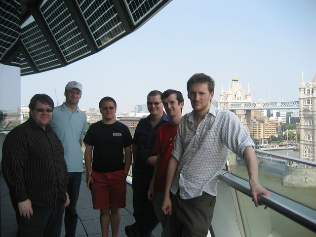 File:OpenStreetMappers at London City Hall.jpg