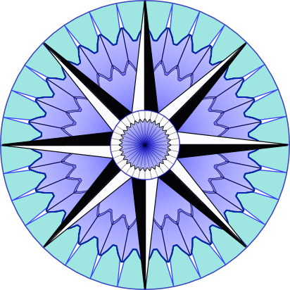 File:Compass-rose-blue-64.png