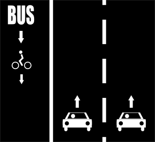 File:Oneway opposite shared bus left.png