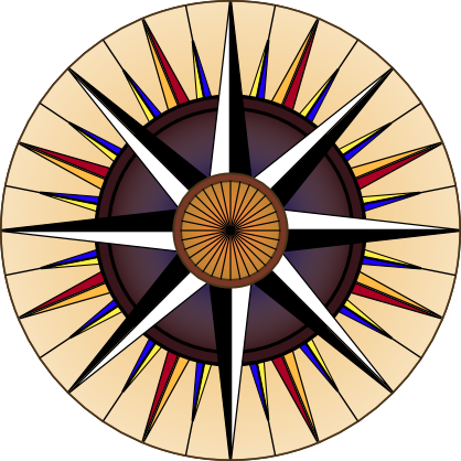 File:Compass-black-white-red-yellow-blue-background-400.png