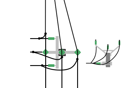 Power line chart pole branch.png