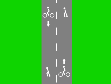File:Cycle and foot way only.png