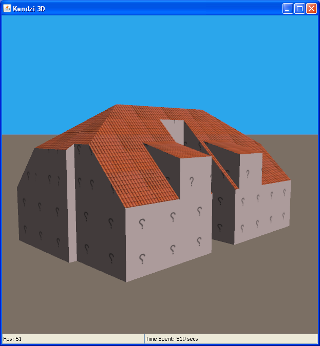 Example 3D Building in Kendzi plugin