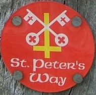St Peter's Way trail-marker