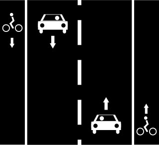 File:Cycle lanes left+right.jpg