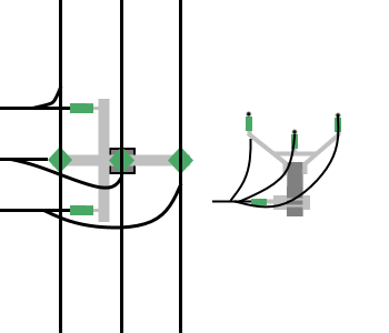 Power line chart pole pin anchor.png