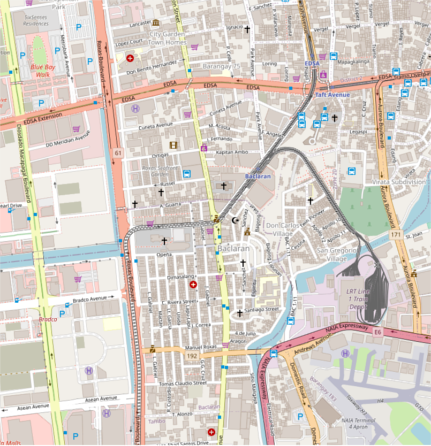 File:Baclaran and Pasay Rotunda - in Standard map layer.png
