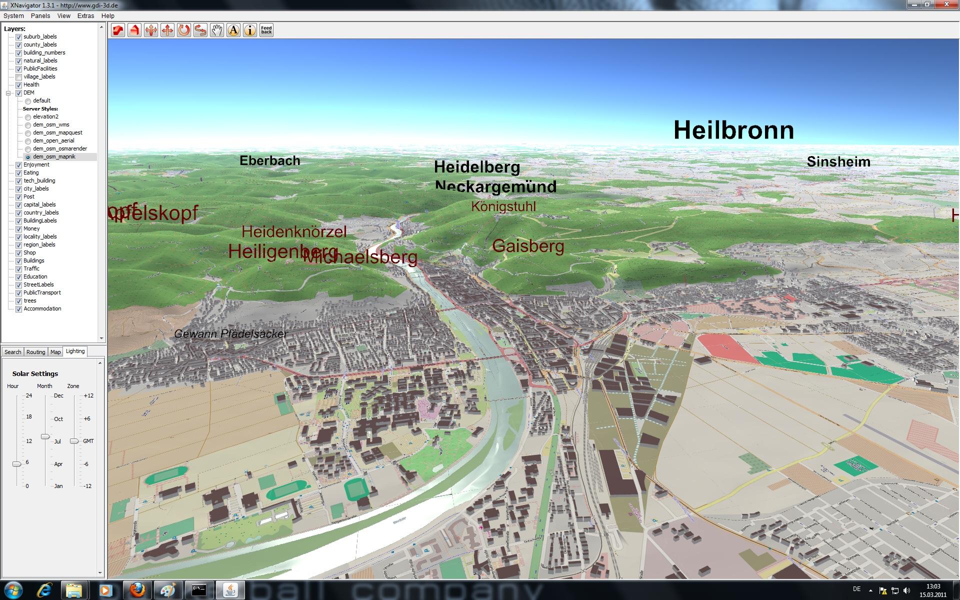 OSM-3D.org Heidelberg