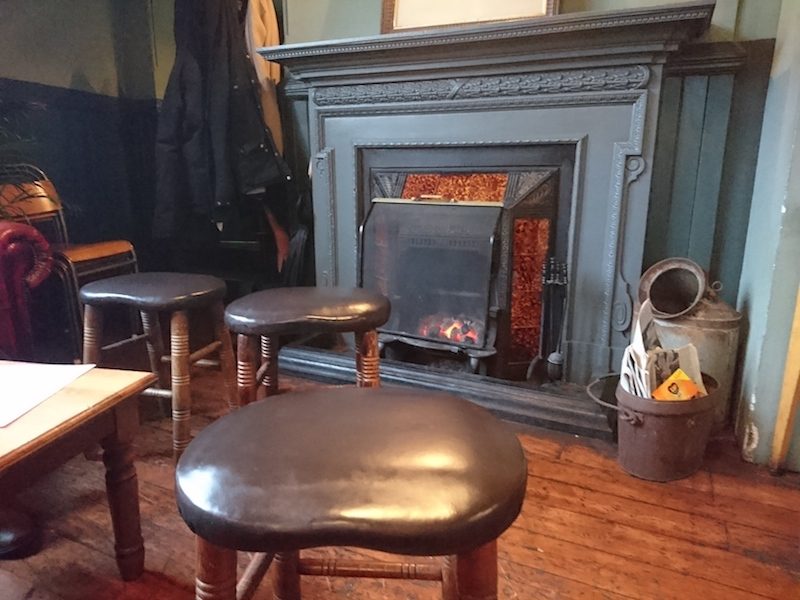 File:Small fireplace The Roebuck pub.jpg