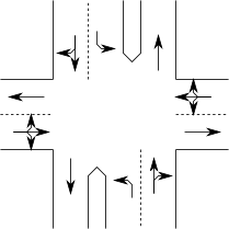 File:Intersection-with-left-turn-lanes-and-dividers.png