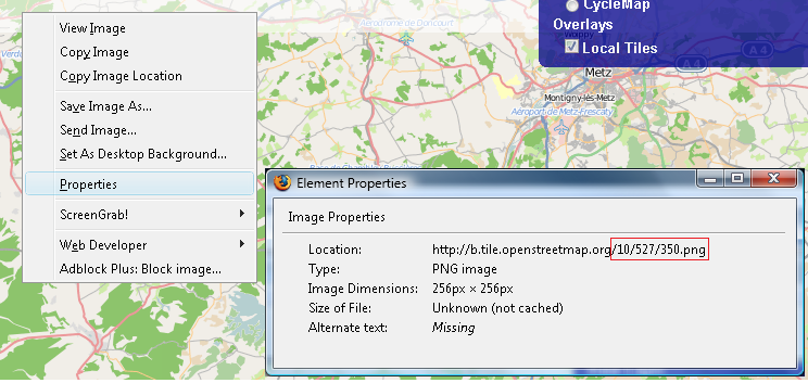 OpenLayers Local Tiles Example - OpenStreetMap Wiki