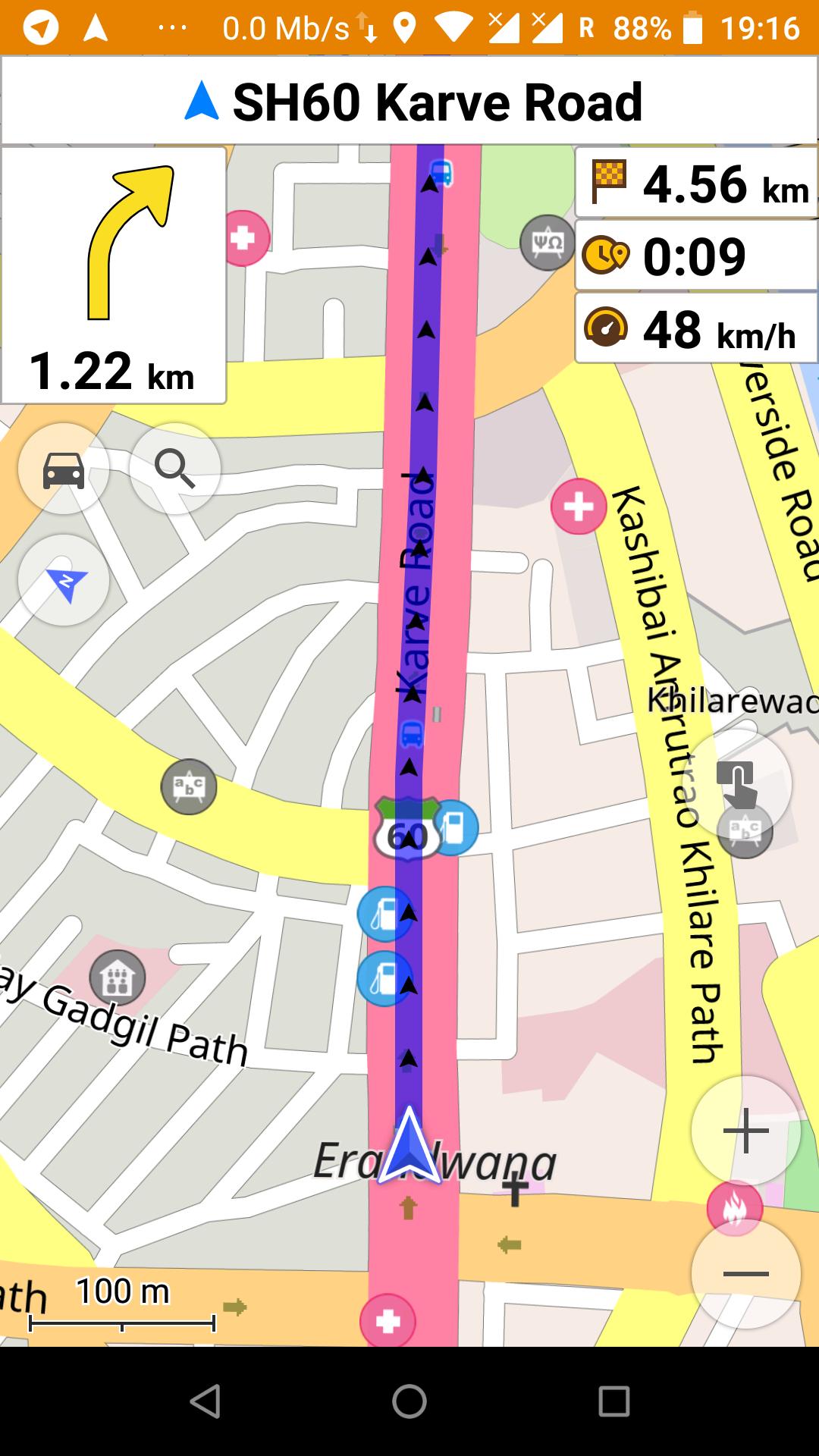 1160 (osd lane guidance) – Navit
