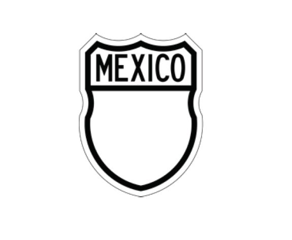 File:MX-SII-7 Escudo carretera federal México.png