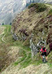 One example for Feature : Mountain biking