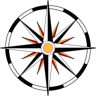 File:Compass-wheel-black-white-red-yellow-background-400.png