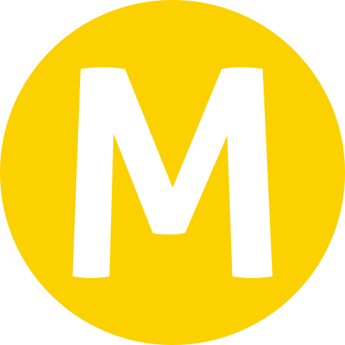 File:De Metro Logo yellow.png