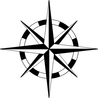 File:Compass-rose-basic-thin-wheel-400.png