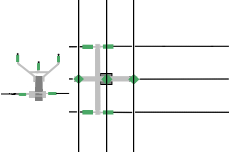 Power line chart pole cross.png