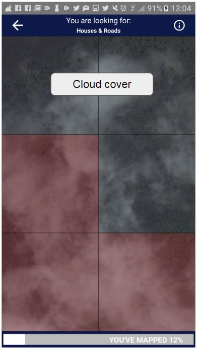 Cloudy imagery example