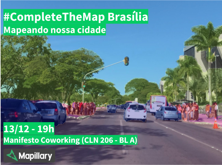 Complete The Map Brasília