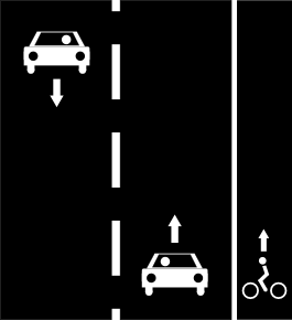 File:Cycle lanes right only.png