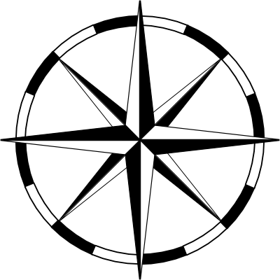 File:Compass-rose-basic-thin-wheel-thin-400.png