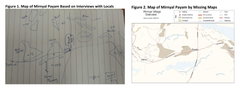 Comparison on maps of Mirnyal