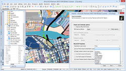 Screenshot of Spatial Manager™ for BricsCAD