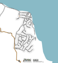 Map of Seaview