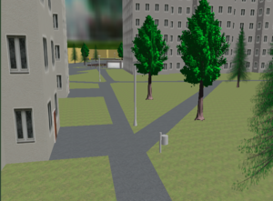 OSM2World Screenshot 2