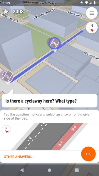 StreetComplete screenshot