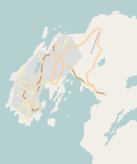 OpenStreetMap Nuuk, march 2010