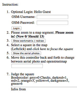 Old osm-matrix tool - OpenStreetMap Wiki on