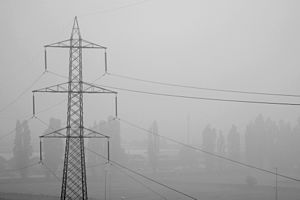 Power lines with fog, Milan.jpg