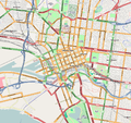 Melbourne Inner OpenStreetMap April 24 2008 Mapnik Update.png
