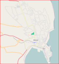 Map of Siracusa