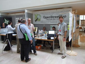 OSM-Stand, AGIT 2012