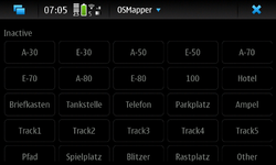 Screenshot of OSMapper