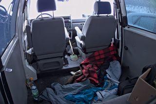 Schlafplatz bei den vierten Abenteuertagen in Glauchau