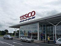 Tesco in Cullompton