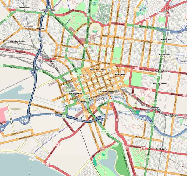 File:Melbourne Inner OpenStreetMap February 26 2008 Mapnik Update.png