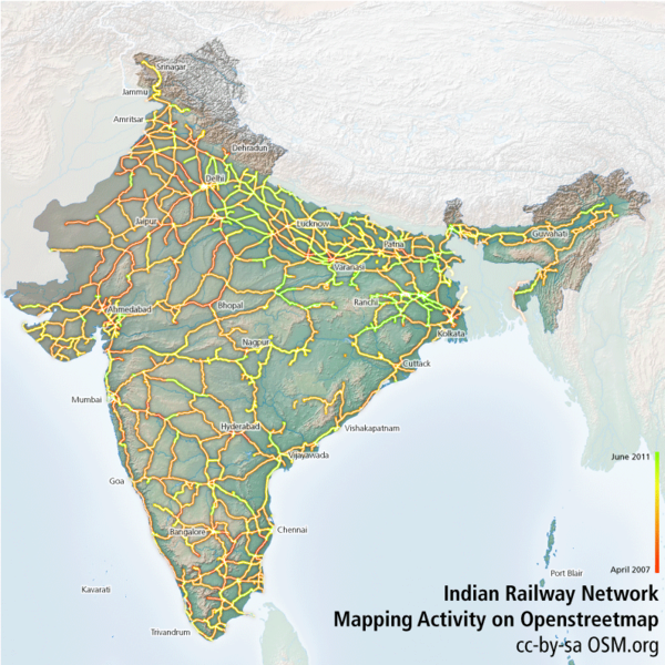 File:Indian Railway Network Coverage on OSM.png