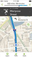 Screenshot of MapQuest4Mobile