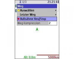 Screenshot of vlkGPS
