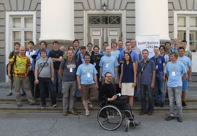SOTM Baltics 2013 group photo