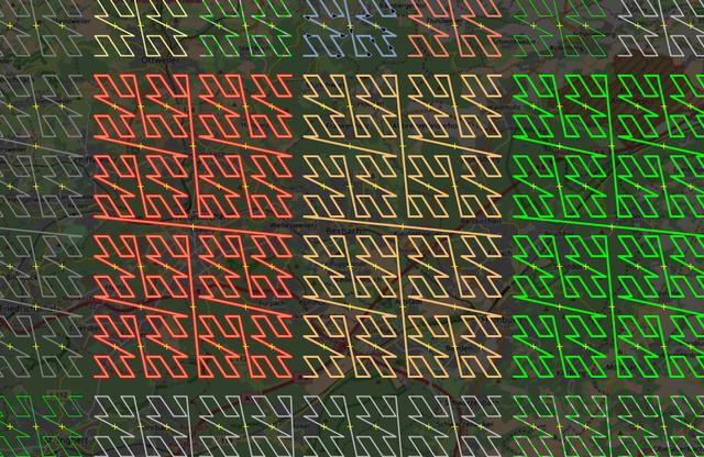 Z-Order Room filling curve