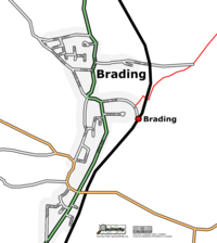 Map of Brading