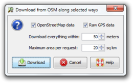 Download from OSM along selected ways.png