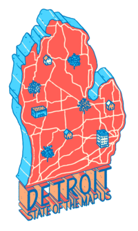 State of the Map U.S. 2018 logo